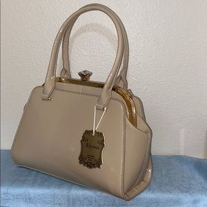 Handbags - NWT PITA APPROVED VEGAN LETH PURSE W/embellishment